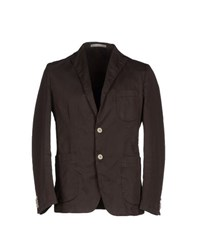 Massimo Rebecchi Suits And Jackets Blazers Men Dark Brown
