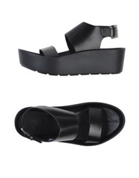 Piampiani Sandals Black