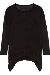 Donna Karan Asymmetric Cashmere Sweater