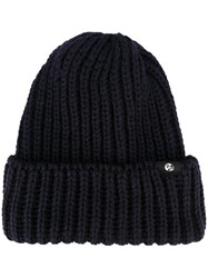 Paul Smith Ps By Ribbed Beanie Hat