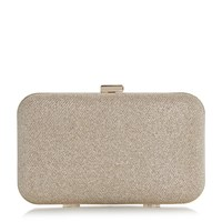 Linea Berlon Box Frame Clutch Bag Gold