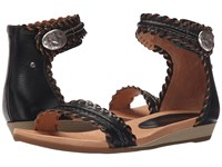 Pikolinos Alcudia 816 0657 Black Women's Sandals