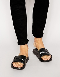Firetrap Sliders Black