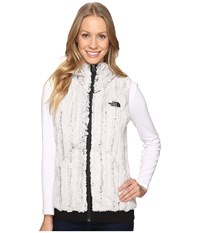 The North Face Furlander Vest Lunar Ice Grey Tnf Black Women's Vest White