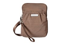 Baggallini Bryant Pouch Portobello Cross Body Handbags Beige