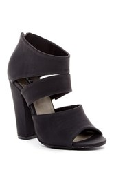 Michael Antonio Jestin Open Toe Heel Black