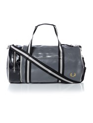 Fred Perry Classic Barrel Bag Grey