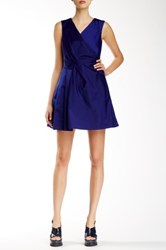 Marc By Marc Jacobs Drape Cocktail Prom Dress Purple