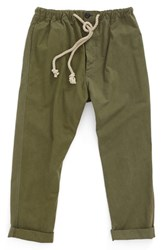 Dr. Collectors Men's Usmc Drop Crotch Pants Olive Green