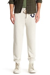 True Religion Heathered Jogger Beige