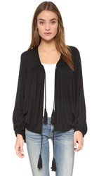 Riller And Fount Stevie Oversized Batwing Jacket Obsidian