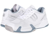 Wilson Rush Pro 2.0 White Ice Gray Blue Men's Tennis Shoes
