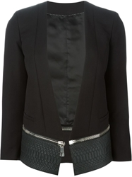Neil Barrett Cropped Zip Away Blazer