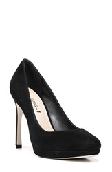 Via Spiga Women's 'Siena' Platform Pump Black Suede