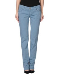 9.2 By Carlo Chionna Casual Pants Pastel Blue