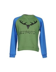 Leitmotiv Sweatshirts Military Green
