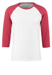 Your Turn Long Sleeved Top White Red