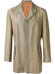 Comme Des Gara Ons Vintage Netted Jacket Nude And Neutrals