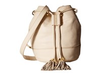 See By Chloe Vicky Small Bucket Bag W Crossbody Strap Milk Cross Body Handbags White