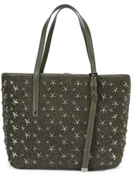 Jimmy Choo 'Pimlico' Tote Green
