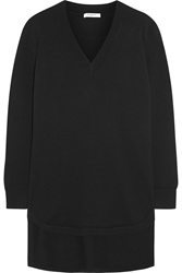 Givenchy Sweater In Black Cashmere With Neoprene Detail