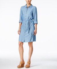 G.H. Bass And Co. Chambray Shirtdress