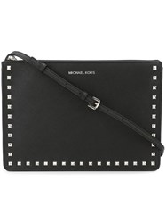 Michael Michael Kors 'Ava' Convertible Clutch Black