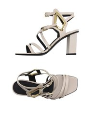 Gianmarco Lorenzi Footwear Sandals Women Ivory