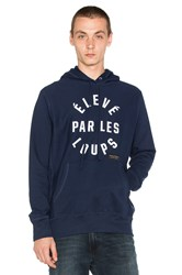 Raised By Wolves Eleve Par Les Loups Hoody Navy