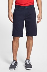 Ag Jeans Men's Green Label 'The Canyon' Flat Front Performance Shorts Naval Blue