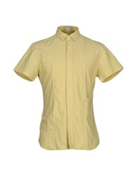 Replay Shirts Shirts Men Yellow