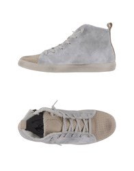 Beverly Hills Polo Club Footwear High Tops And Trainers Men Light Grey