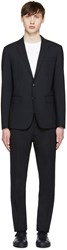 Dsquared Navy Wool Paris Suit