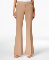 Inc International Concepts Flare Leg Pants Only At Macy's Camel Tea