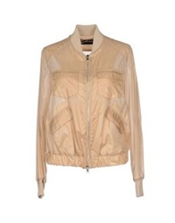 Gattinoni Jackets Beige