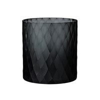 Day Birger Et Mikkelsen Diamond Handcut Glass Votive Black 15X15cm
