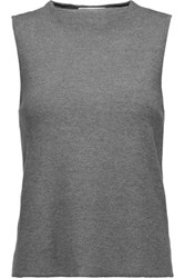 Milly Stretch Knit Tank Anthracite