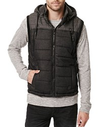 Buffalo David Bitton Felix Zippered Vest Black