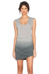 Lna Double Layer Tank Dress Gray