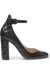 Gianvito Rossi Quilted Leather Pumps Black