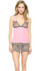 Honeydew Intimates Coquette Babydoll And Thong Wafer Cashmere