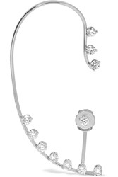 Delfina Delettrez 18 Karat White Gold Diamond Ear Cuff