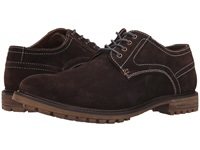 Hush Puppies Rohan Rigby Dark Brown Suede Men's Lace Up Casual Shoes