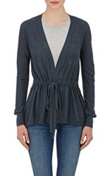 Skin Women's Cotton Slub Knit Cardigan Navy