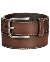 Levi's Bridle With Heavy Contrast Stitch Belt Brown