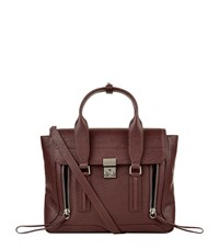 3.1 Phillip Lim Medium Pashli Satchel Female Black Cherry