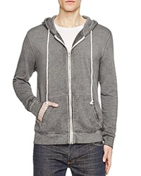Threads For Thought Burnout Zip Hoodie Compare At 74 Light Grey