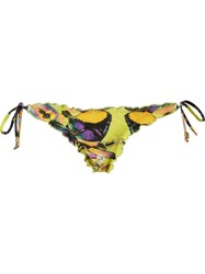 Blue Man Butterfly Side Tie Bikini Bottom