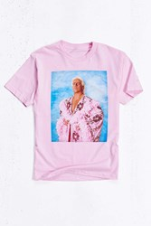 Urban Outfitters Ric Flair Tee Pink