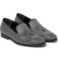 Alexander Mcqueen Polka Dot Leather Loafers